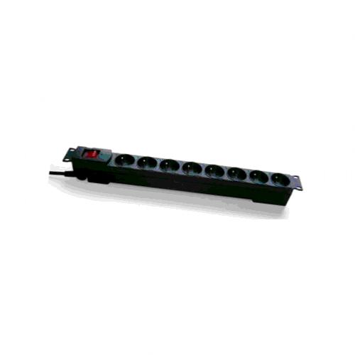 grande sélection sélectionner pour le meilleur Réduction Bandeau rackable 8 prises 2P+T avec interrupteur