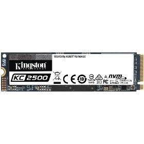 Disque SSD Kingston KC2500 M2 2280 500Go PCIe