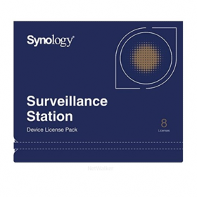 Surveillance Device Licence Pack 8 pour NAS Synology