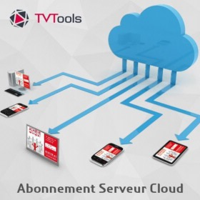 Solution d'affichage public TVTool Cloud 3 ans