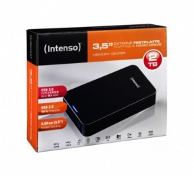 Intenso Memory Center 2To noir