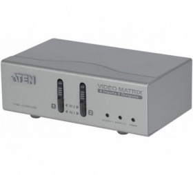 Commutateur matriciel ATEN VS0202 VGA et Audio